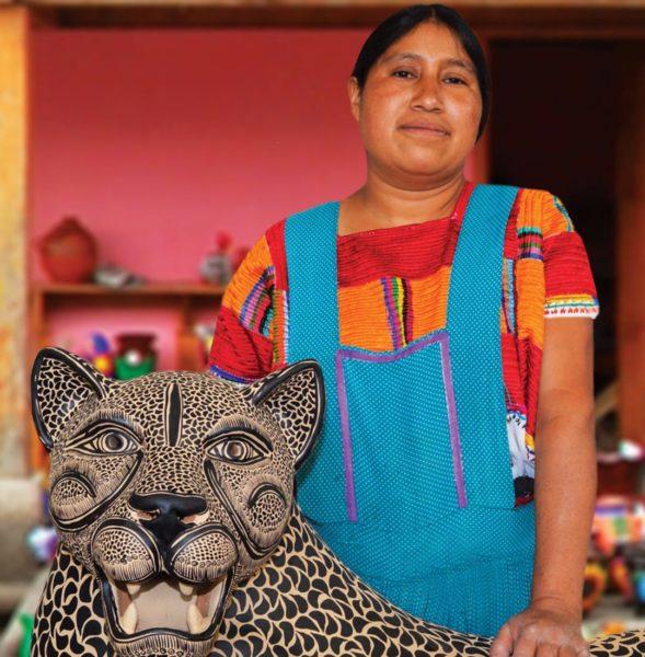 Mexicaanse Dame In Chiapas