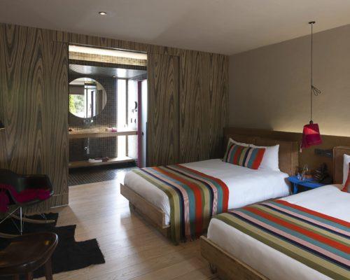 Tweepersoonskamer In Hotel Bo