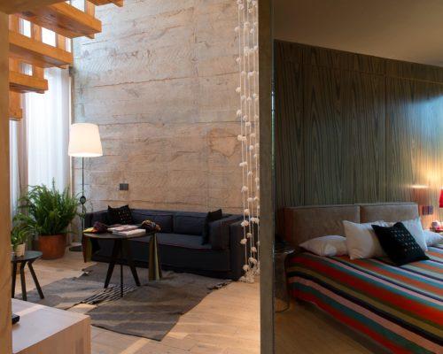 Bo Suite In Modern Hotel In Mexico