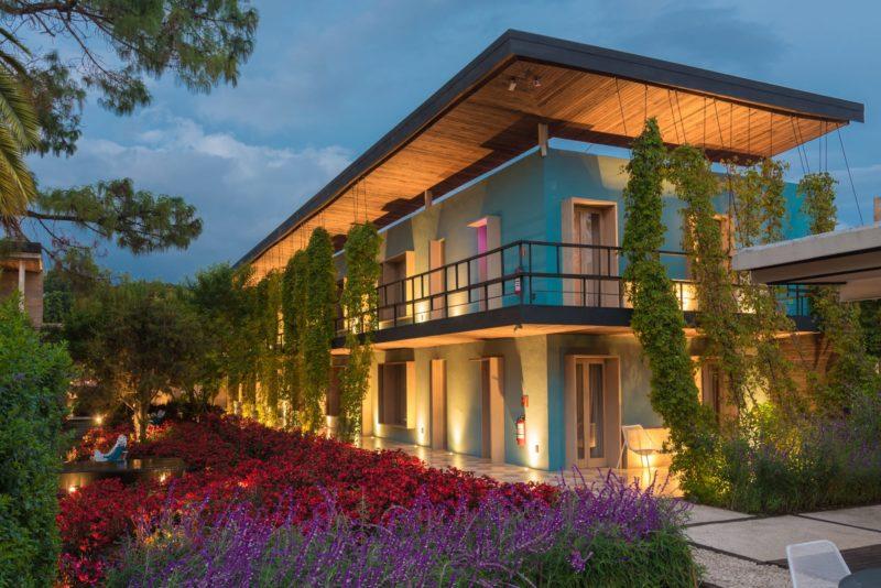 De Tuin Van Hotel Bo In San Cristobal De Las Casas