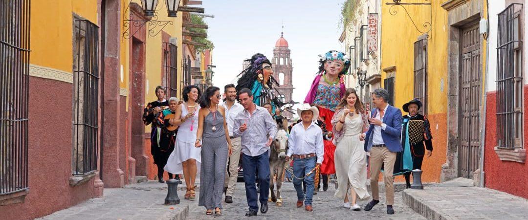 Mexico san miguel allende mensen getrouwd