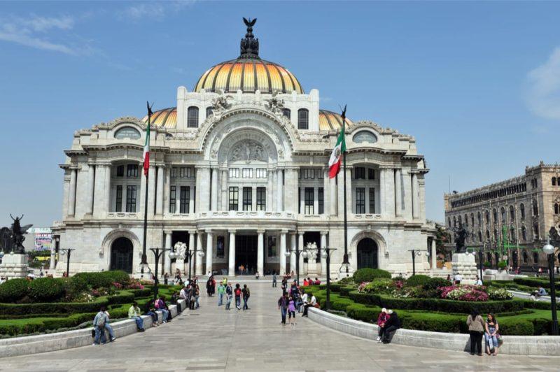 Mexico Stad Palacio De Bellas Artes