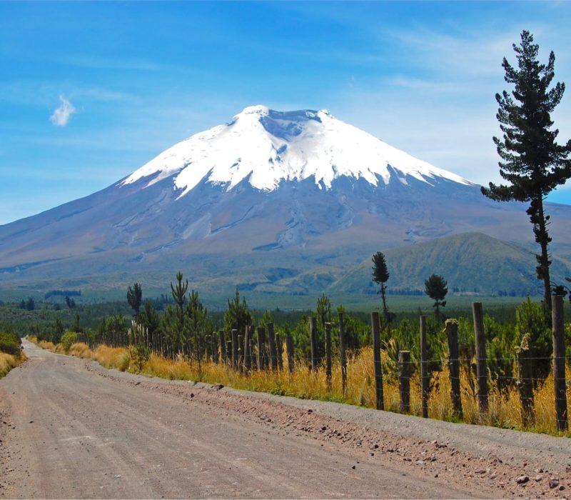 Nationaal Park Cotopaxi Ecuador