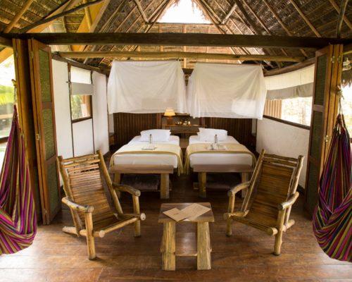 Tweepersoons Hut Inkaterra Reserva Amazonica