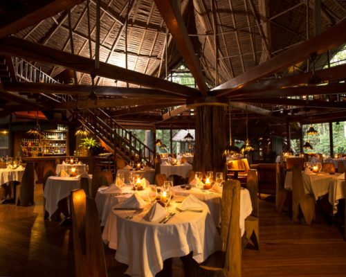 Restaurant Inkaterra Reserva Amazonica