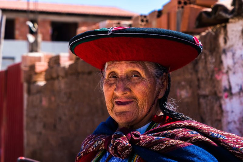Peruaanse Dame In Arequipa