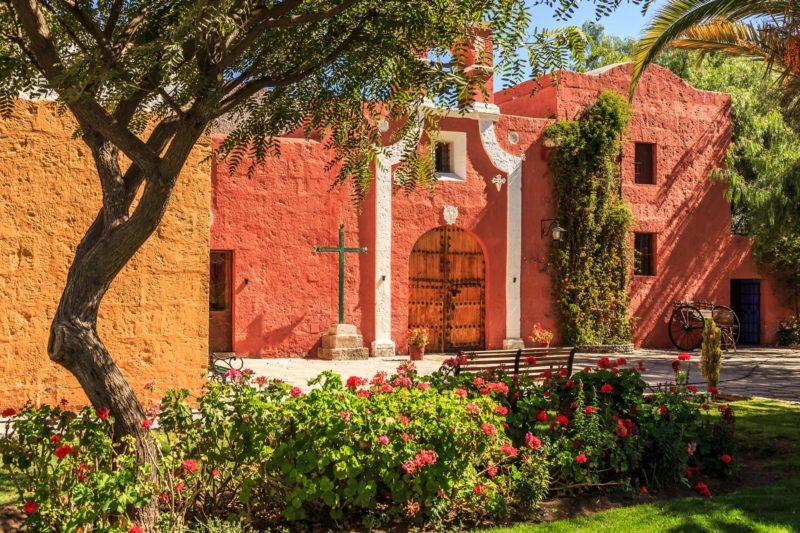 Santa Catalina Klooster In Peru