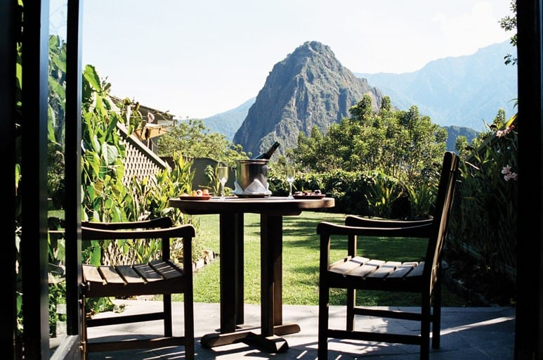 Uitzicht Op Machu Picchu Belmond Sanctuary Lodge