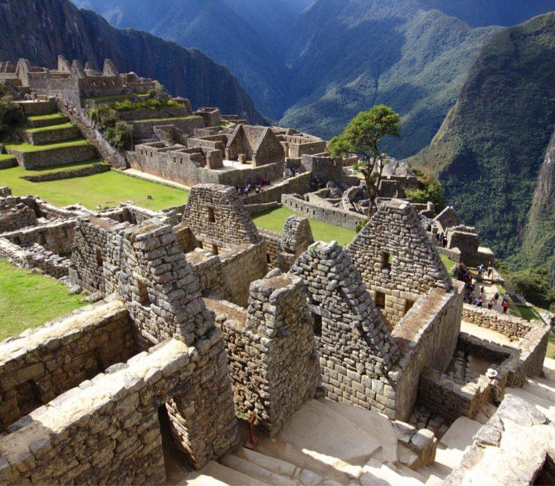 Inca-citadel Machu Picchu In Peru