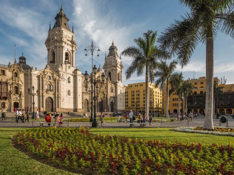 Lima De Mooiste Plekken In Peru