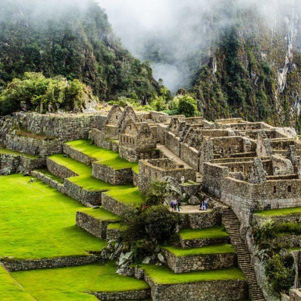 Inca-stad Machu Picchu