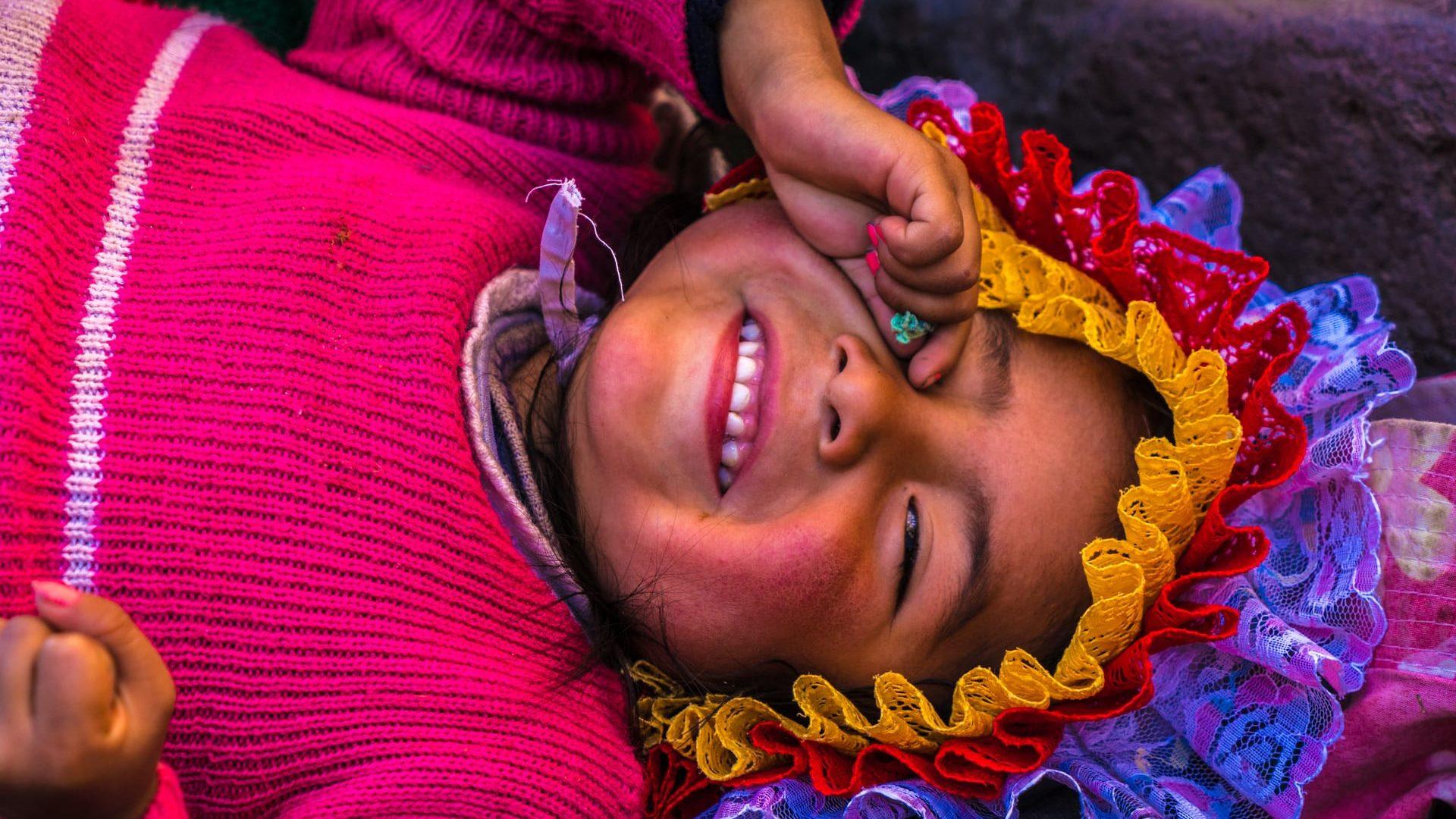 Peru meisje arequipa