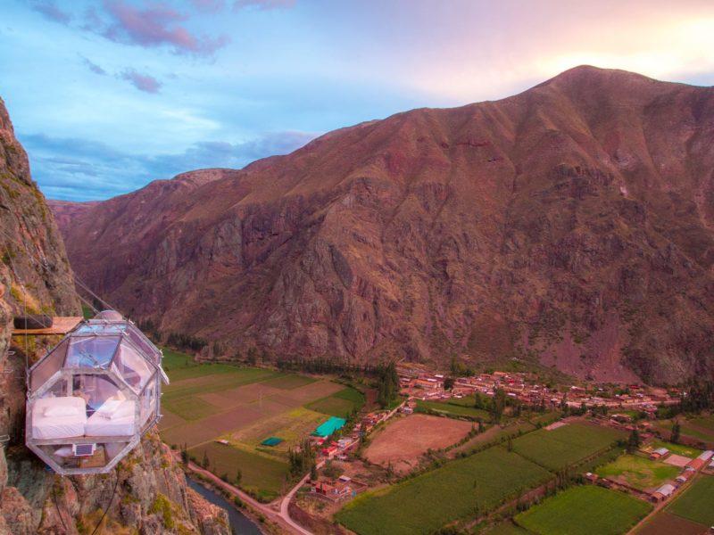 Skylodge In De Heilige Vallei Peru