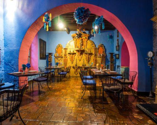 Restaurant Meson De La Sacristia Puebla