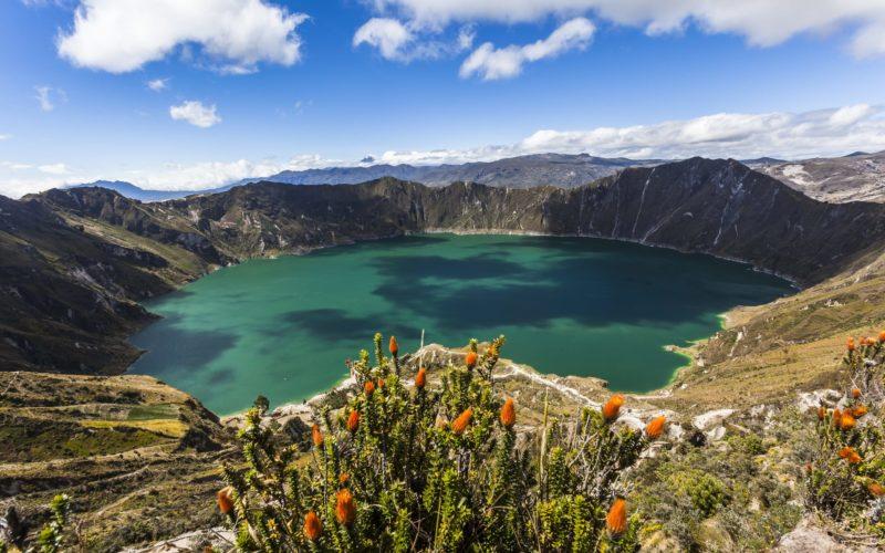 Trekking In Ecuador Quilotoa Kratermeer