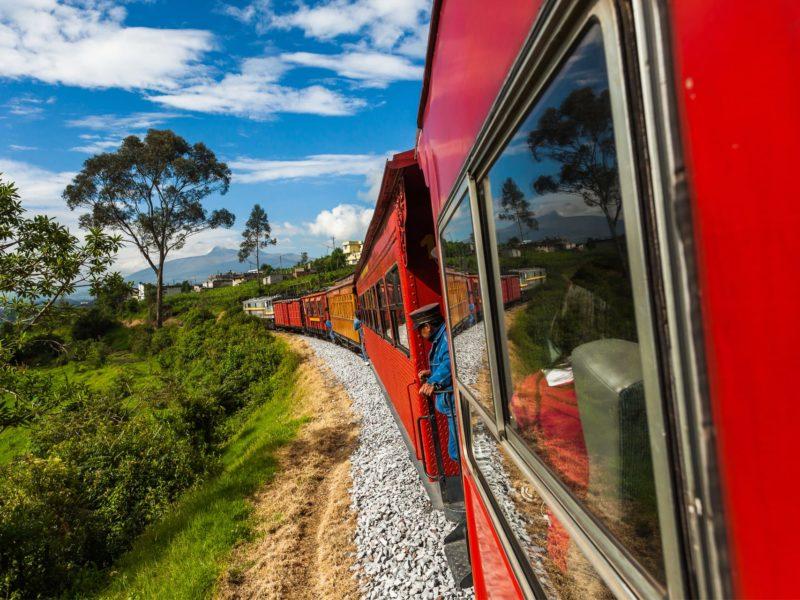 Treinreis In Ecuador