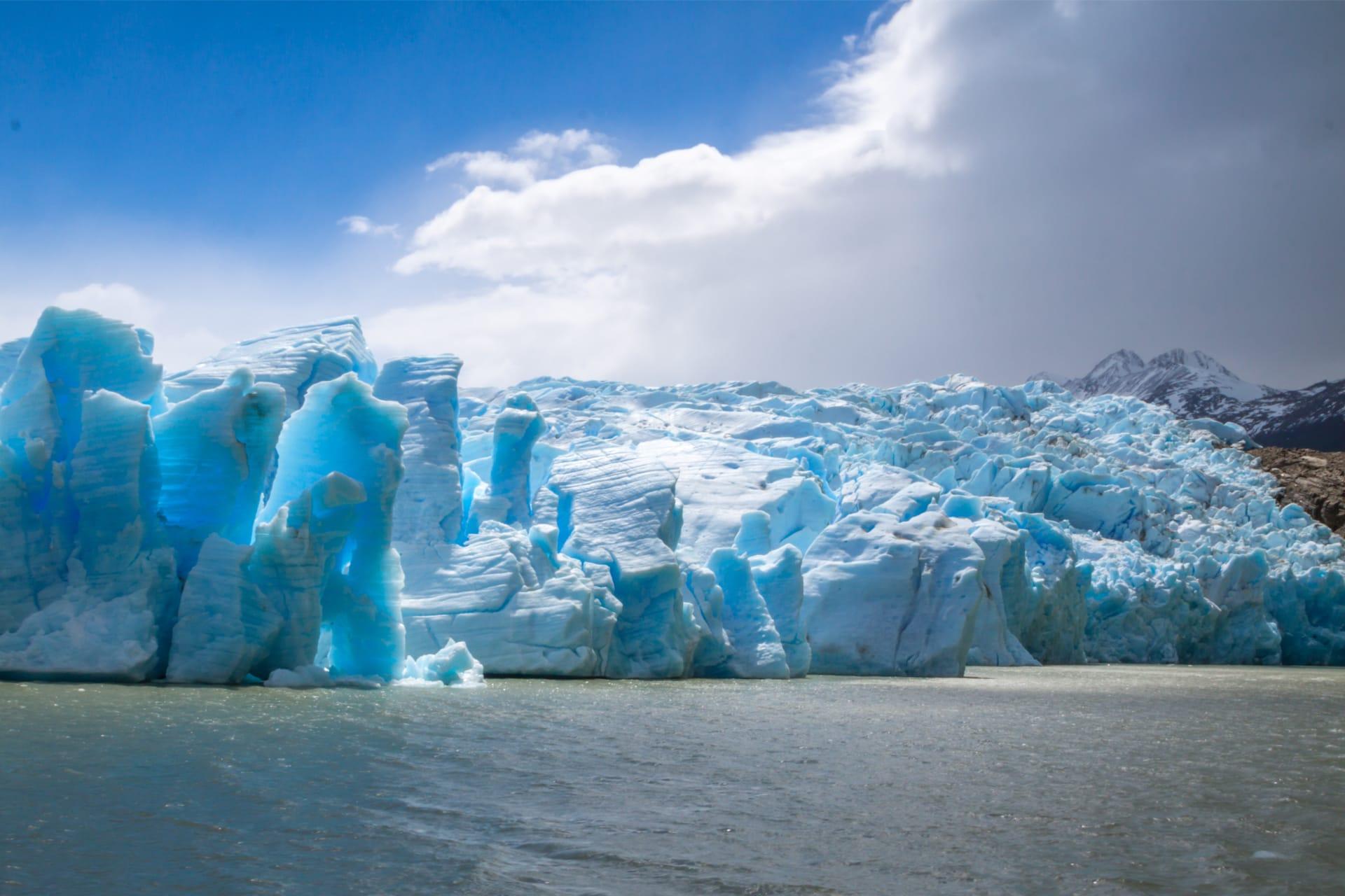 Gletsjers in Patagonië