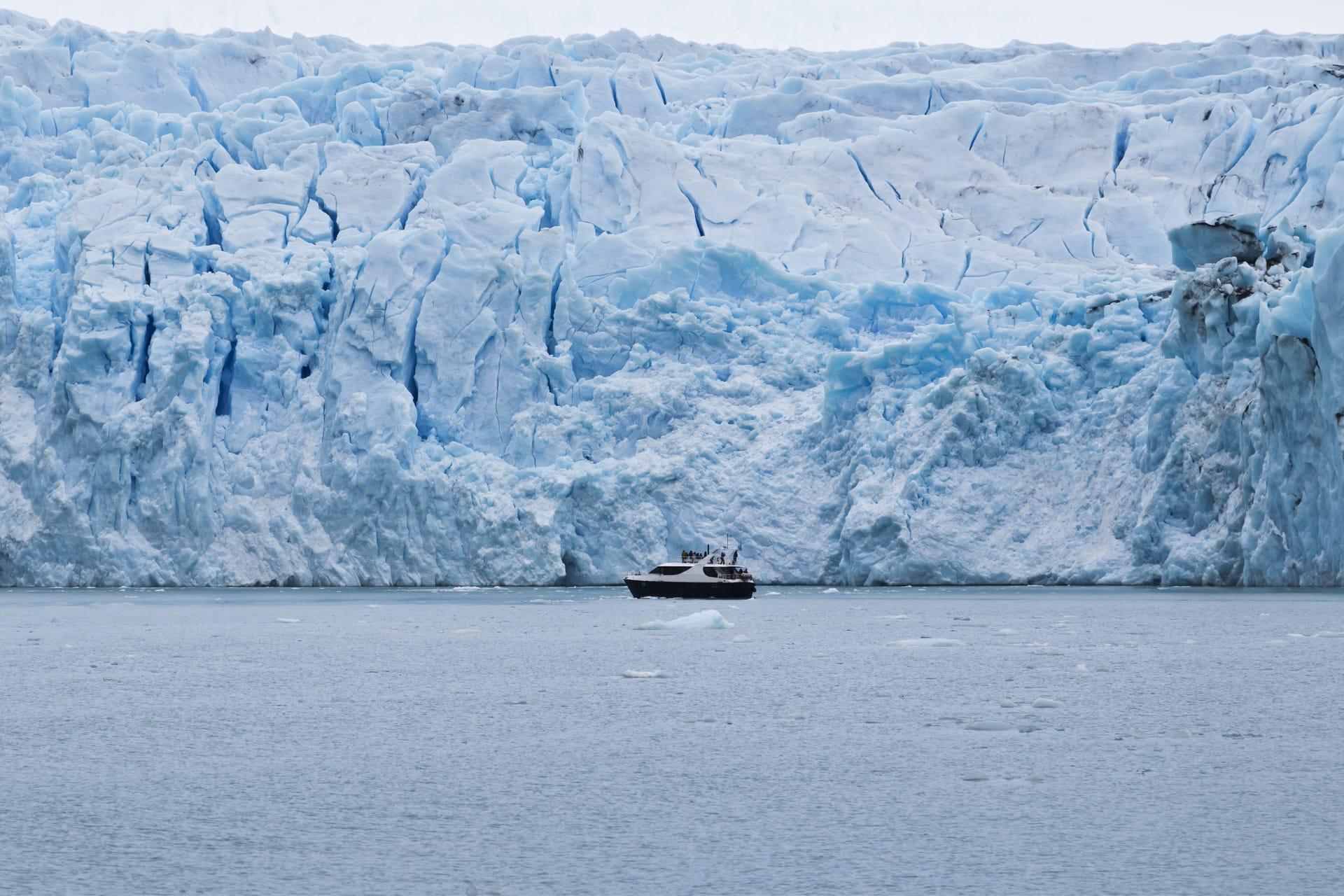 Boottour naar de gletsjers