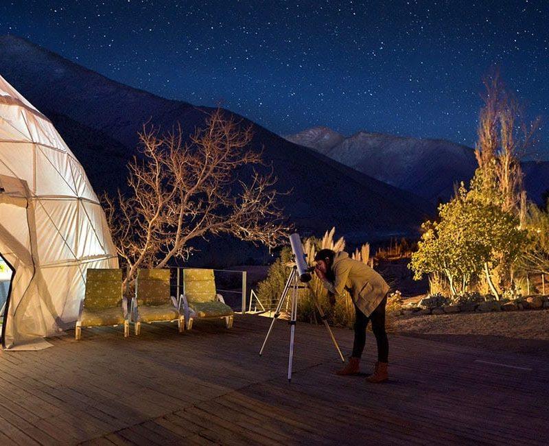 Sterren Kijken In De Atacama Woestijn