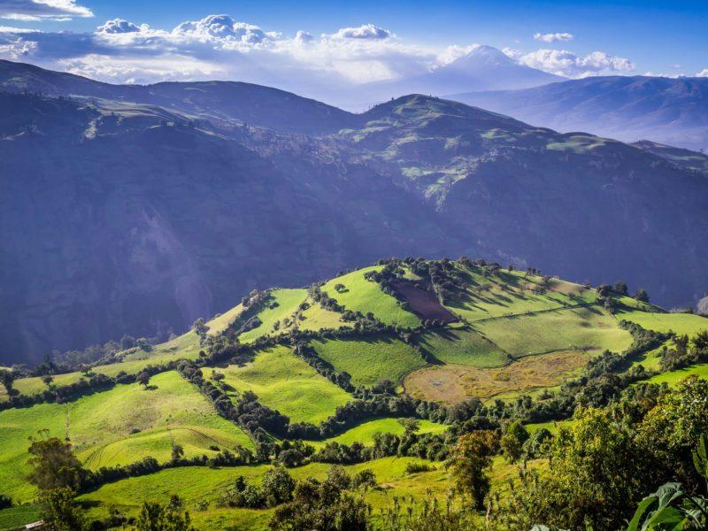 Wandelen In Ecuador Door Het Andesgebergte