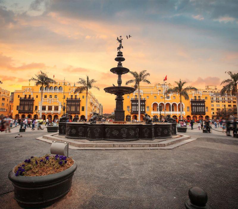 Peru Lima Centraal Plein