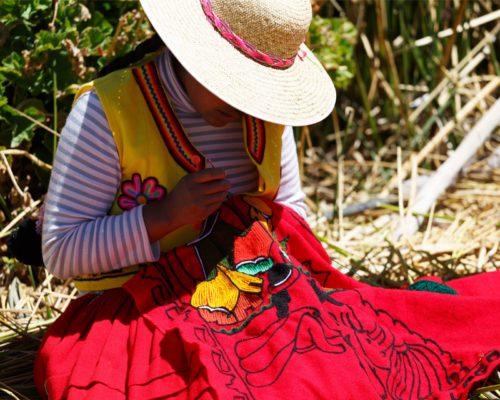 Kleurrijke Inheemse Bevolking