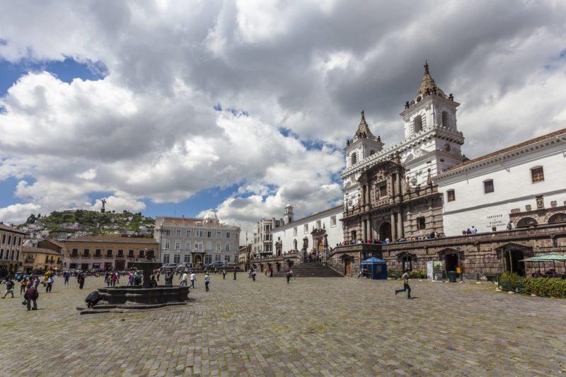 Plaza San Francisco Quito
