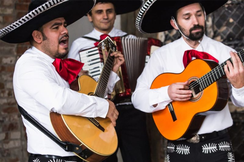 Mariachis In Mexico