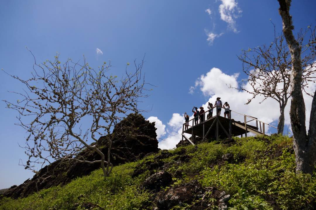 Lookout Point op Floreana eiland
