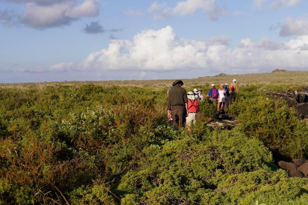 Wandelen over de Galapagoseilanden