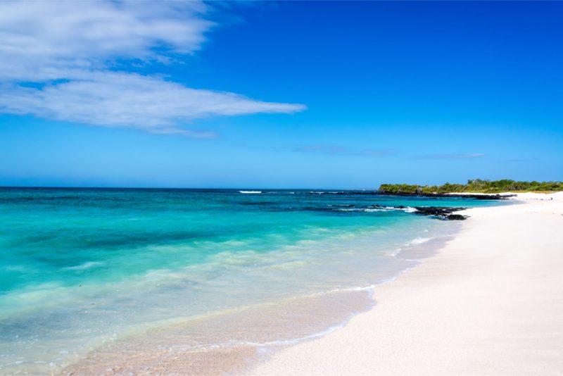 Luxe Reis Galapagos Stand Bij San Cristobal