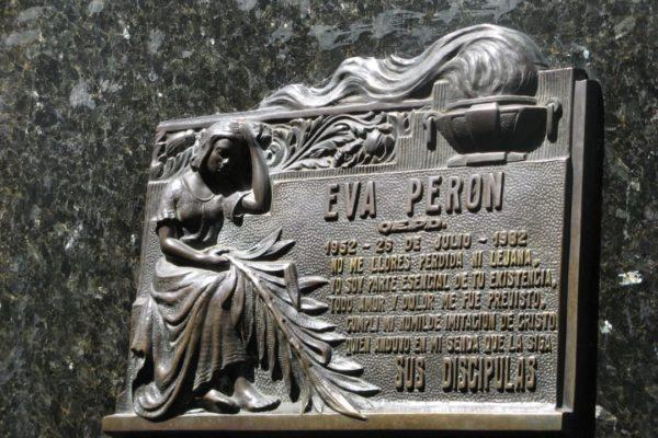 Argentinië Recoleta Eva Peron