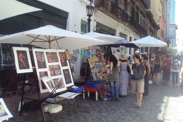 Lokale Markt In San Telmo