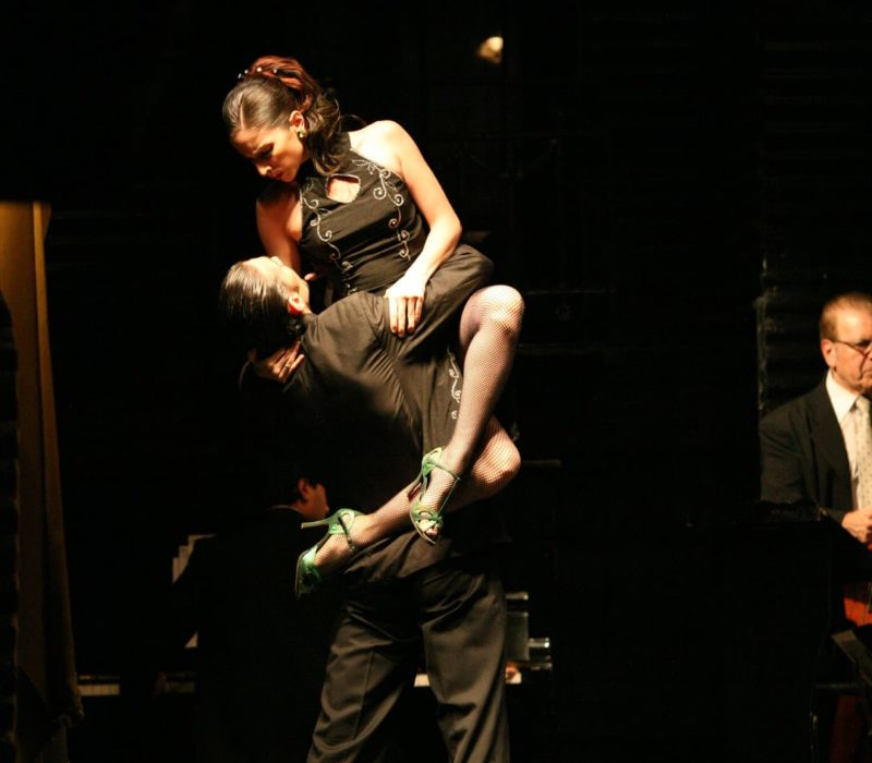 Argentinie Buenos Aires Tango Dinnershow