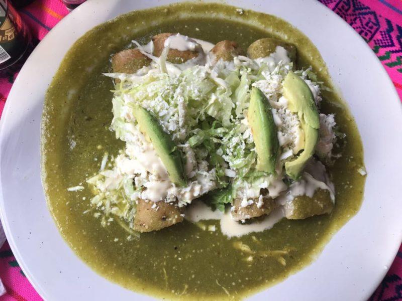 Typisch Mexicaans Eten Enchiladas
