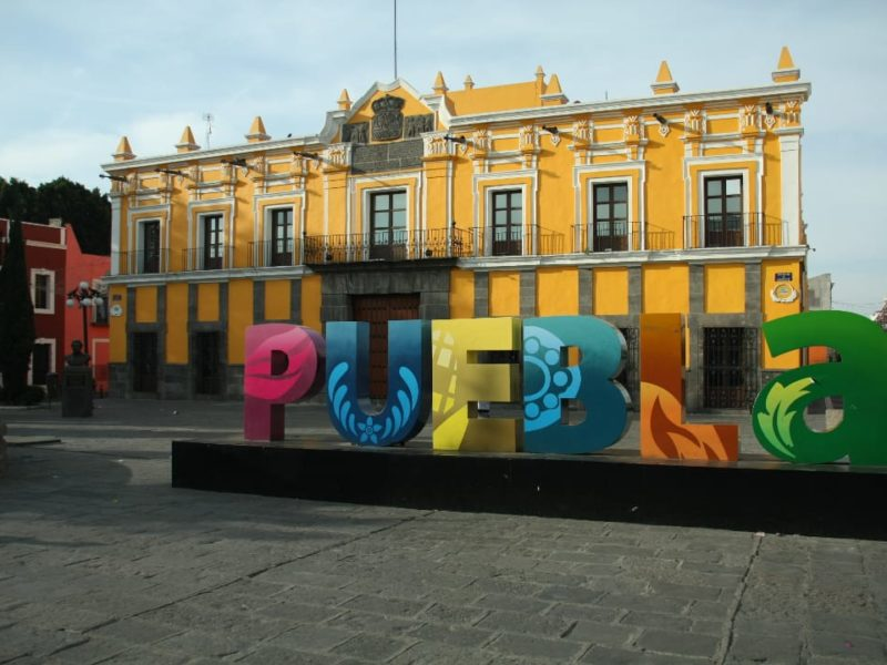 Het Theater Van Puebla In Mexico
