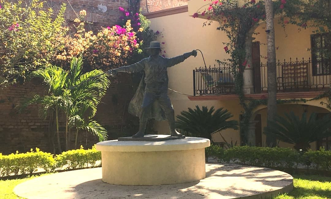 Mexico el fuerte huis van zorro tuin