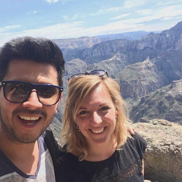 Mexico Nicole En Sergio Copper Canyon