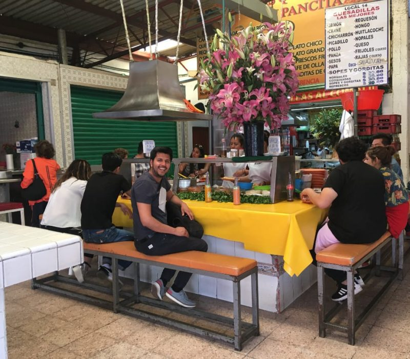 Mexicaans Eten In Coyoacán