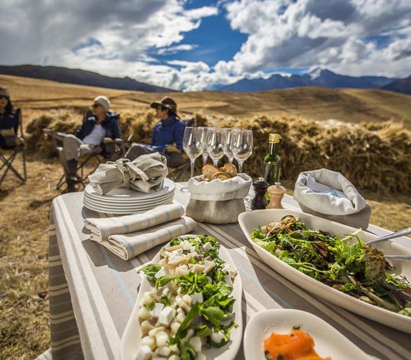 Peru Hotel Explora Sacred Valley Lunch