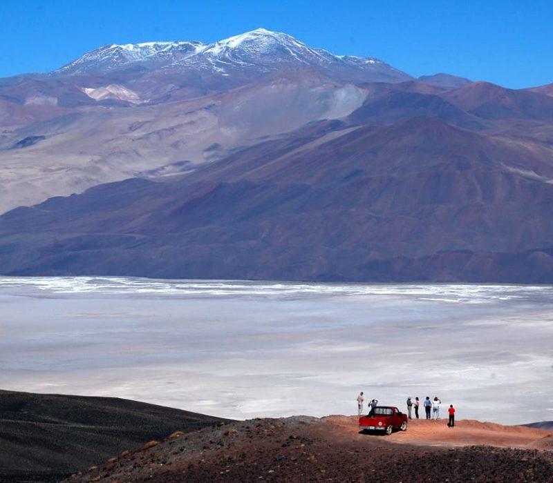 Autorondreis Argentinië Zoutpannen