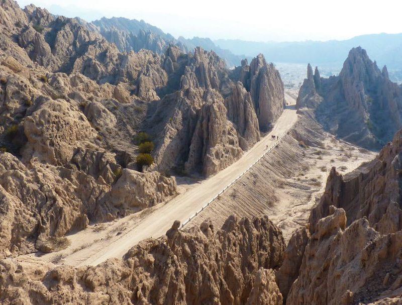 Roadtrip Argentinie Quebrada