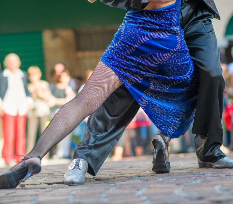 Tango Dansen In Buenos Aires