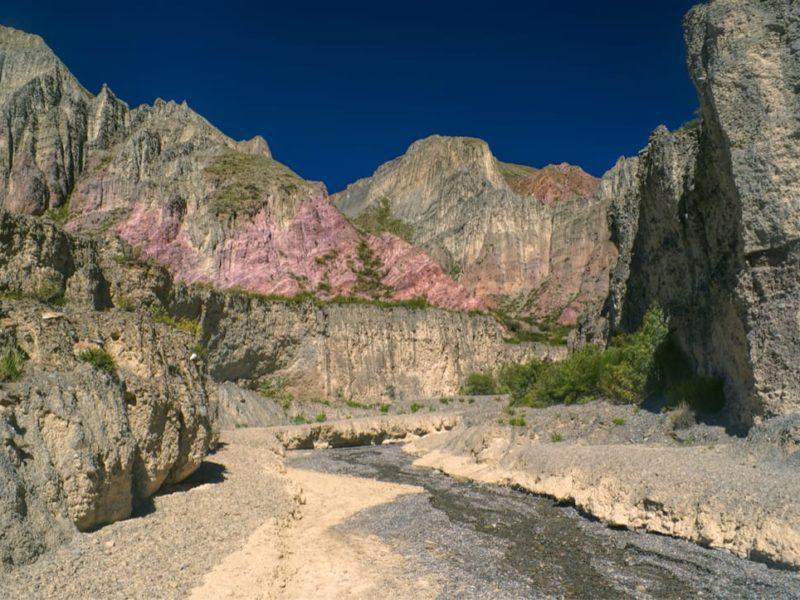 Argentinië Quebrada De Humahuaca Uitzicht