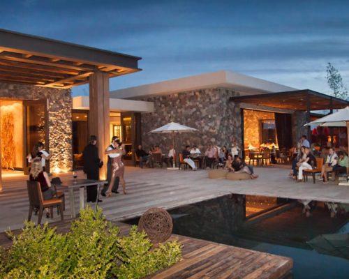 The Vines Resort & Spa Mendoza Avondsfeer