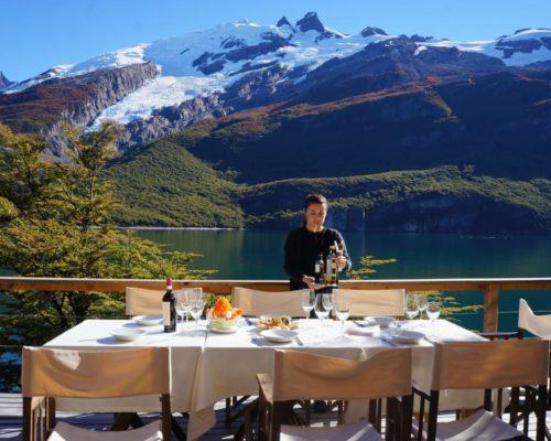 Unieke Lodge In Argentinië Buiten Terras