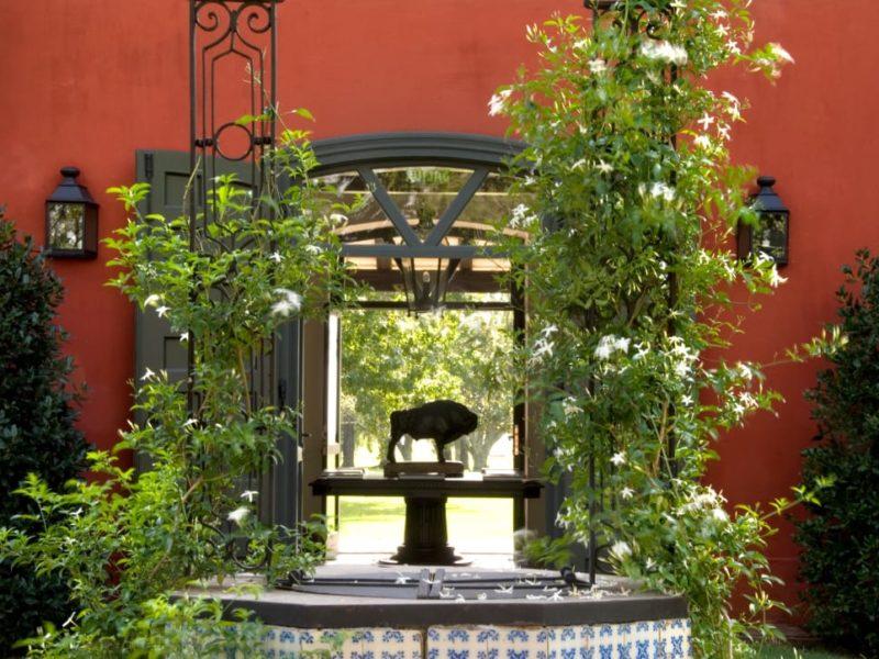 Luxe Hotel Argentinië Pampa Estancia La Bamba De Areco Tuin