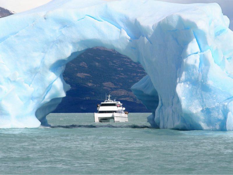 Argentinië El Calafate Perito Moreno Gletsjer Boottour