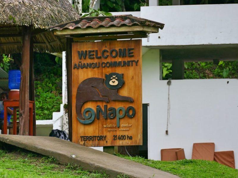 Ecuador Napo Wildlife Center Entree