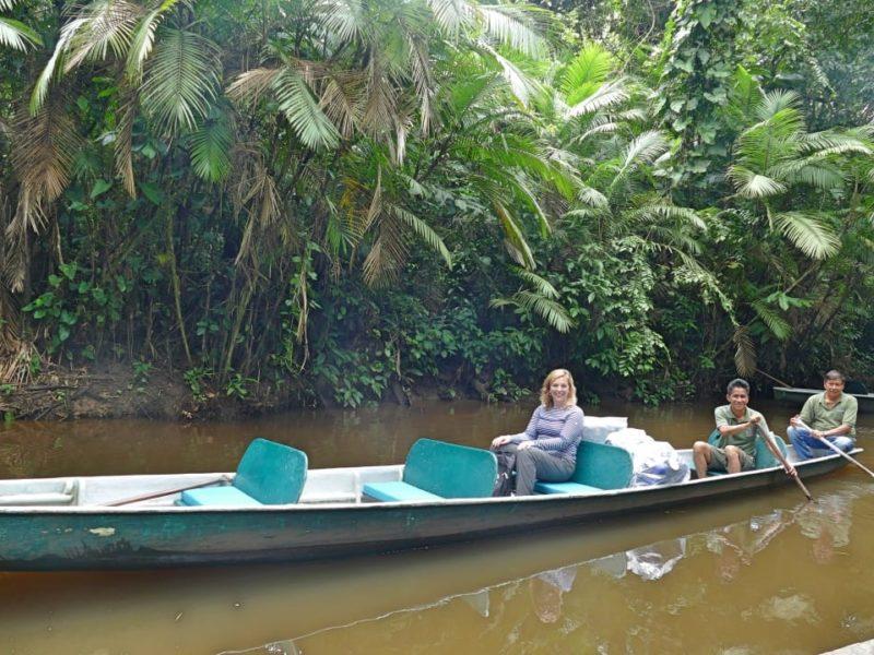 Ecuador Napo Wildlife Center Klaar Voor De Kanotocht